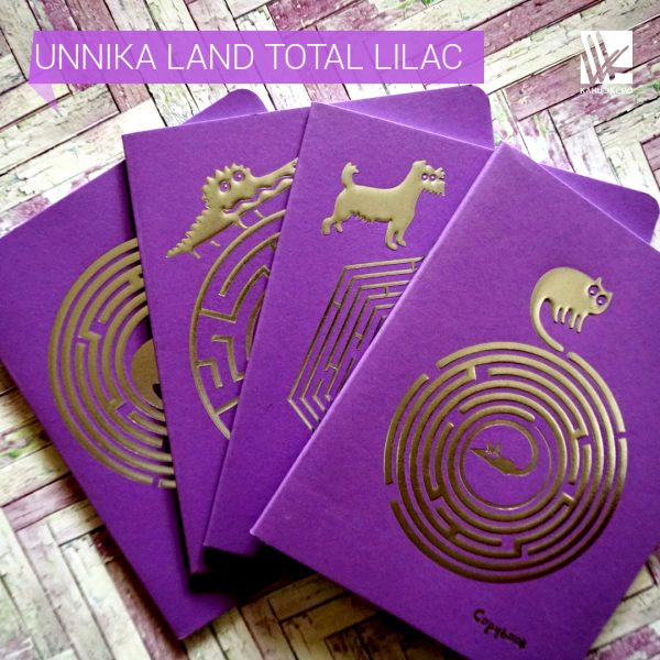 Тетради Unnika Land Total Lilac