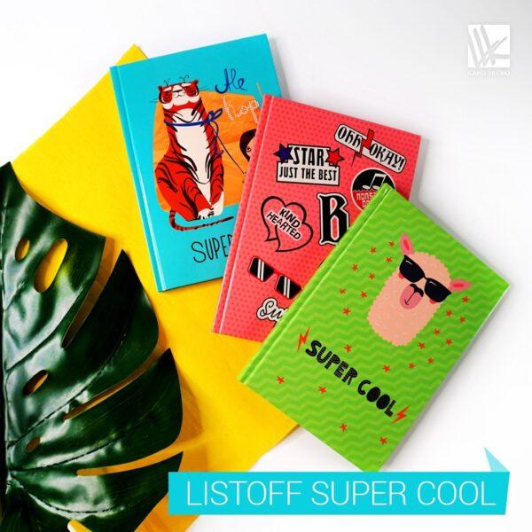 Книги для записей Listoff «Super Cool»