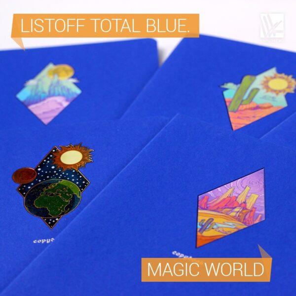 Тетради Total blue. Magic world.