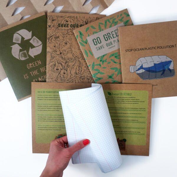 Эксклюзивная серия тетрадей Listoff «Eco-frendly»