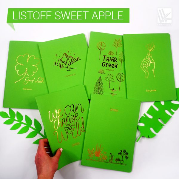 Тетради Listoff «sweet apple»