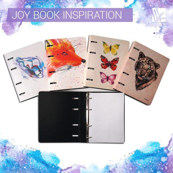 Коллекция тетрадей на кольцах от Joy book